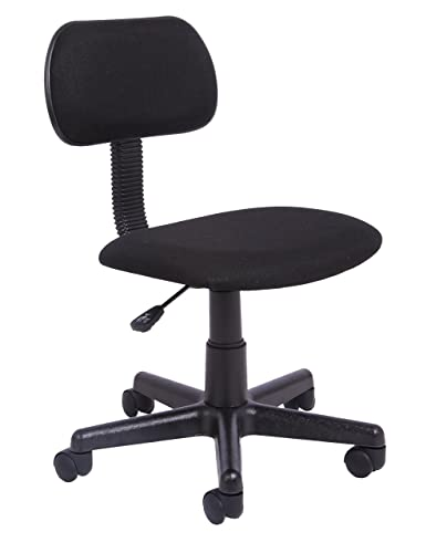 Office Essentials Height Adjustable Desk Chair - Black