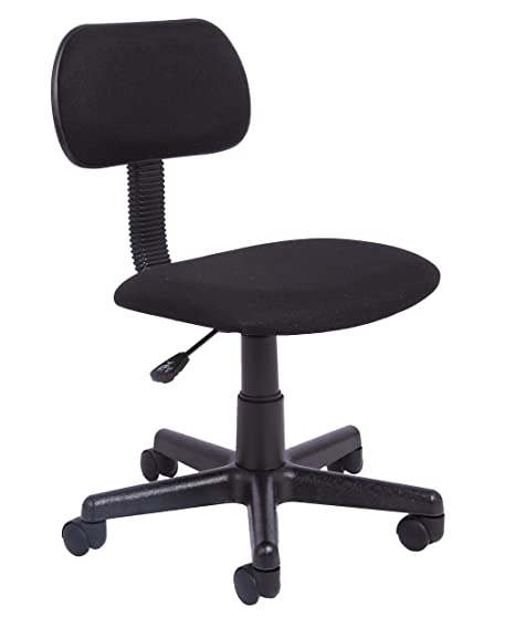 Awesome Office Essentials Height Adjustable Desk Chair Black Evergreenethics Interior Chair Design Evergreenethicsorg