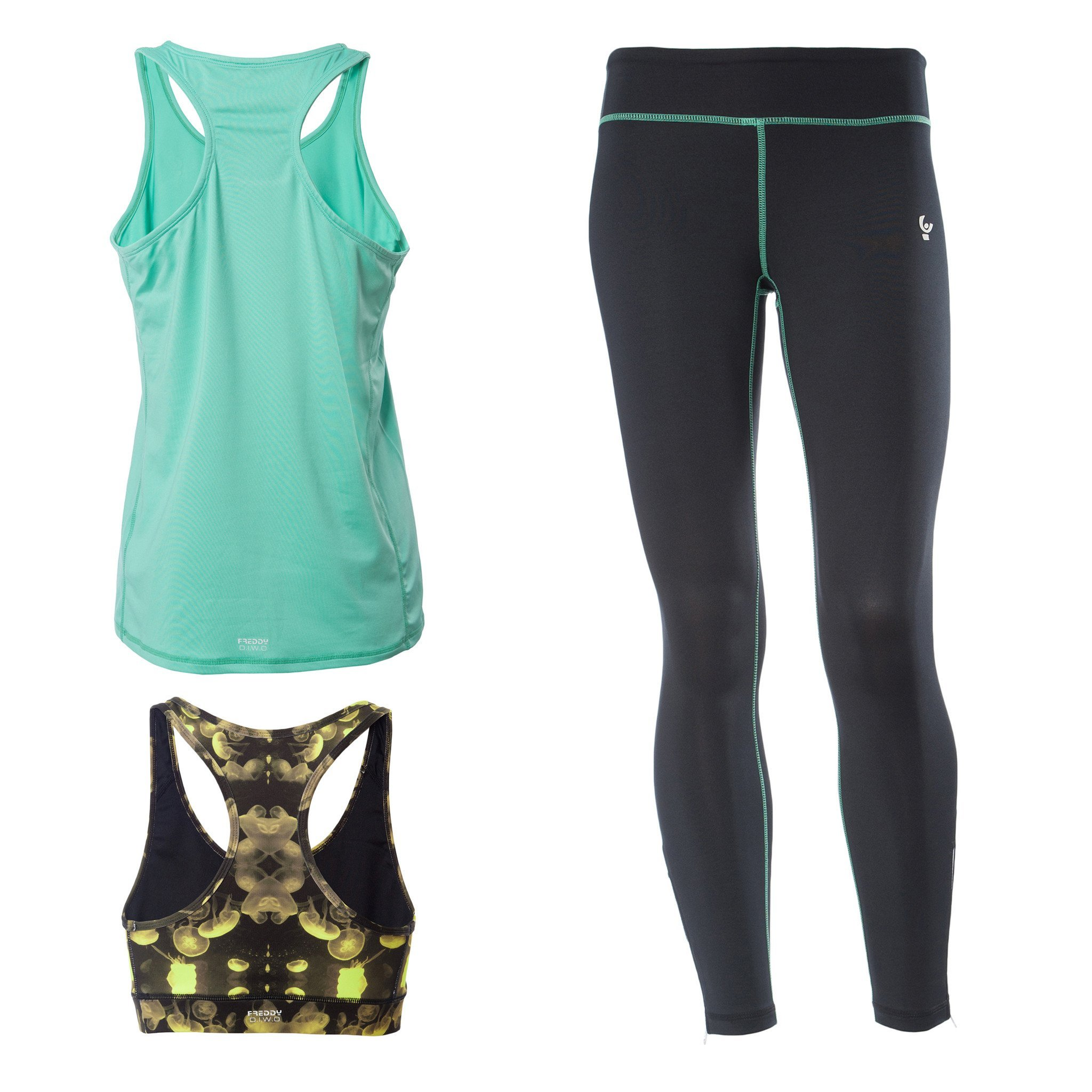 FREDDY SUPERFIT D.I.W.O SPORT PANT + TOP + TANK