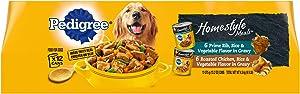 Pedigree Homestyle Meals Adult Wet Dog Food, 13.2 oz Cans