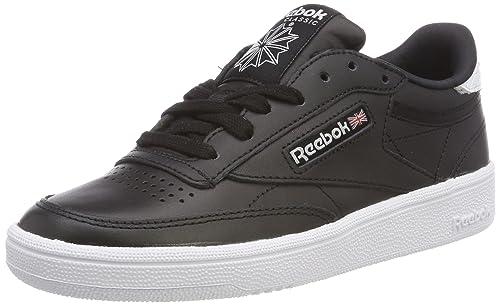 36f24e7259fe2 Reebok Women s Club C 85 Emboss Trainers White  Amazon.co.uk  Shoes ...