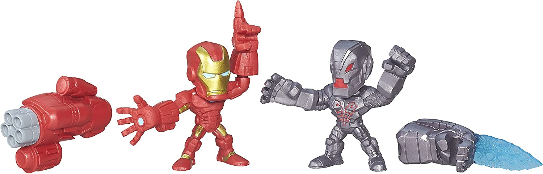 Marvel Super Hero moledores Micro Iron Man vs Ultron 2-Pack ...