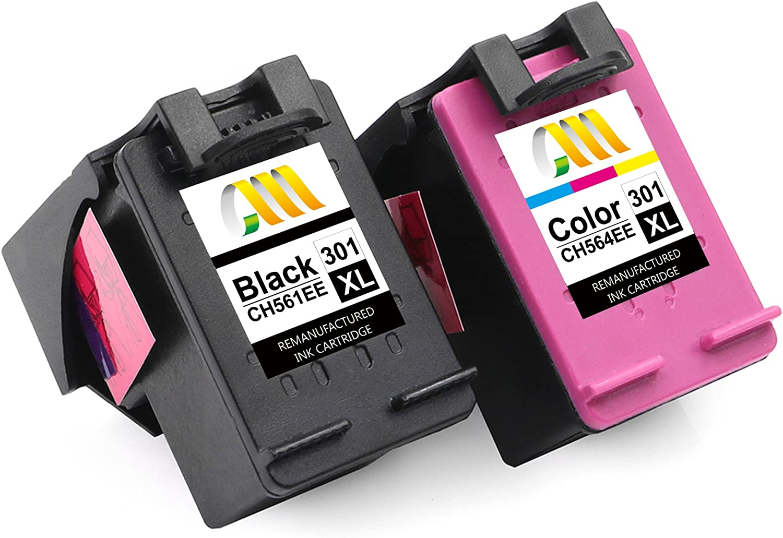CMCMCM Remanufacturado Cartucho de Tinta Reemplazo para HP 301 XL ...