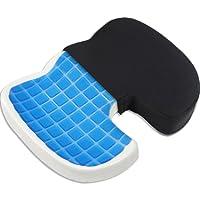 Proveon Orthopädisches Steissbein Sitzkissen – Steissbeinkissen mit Gel-Einlage