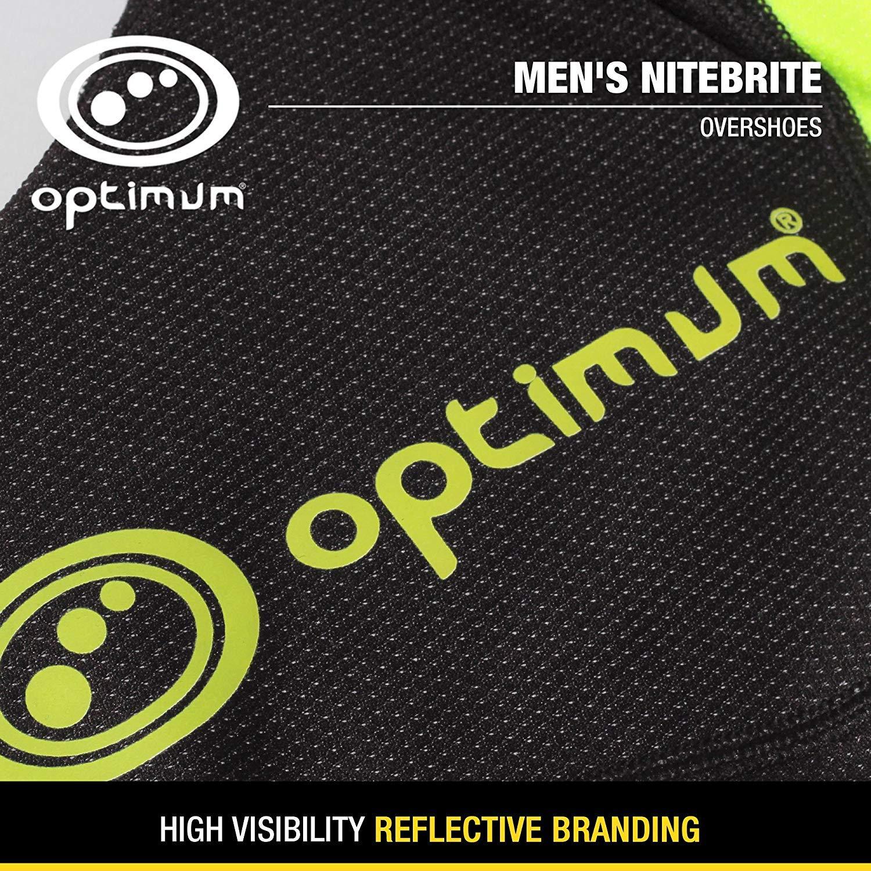 Optimum Mens Nitebrite Cycling Overshoes