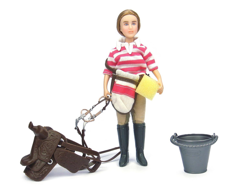 bajo precio del 40% Reducción de precio Breyer B61045 B61045 B61045 Classics Saddle Up Doll And Accessory Set - Eva  producto de calidad