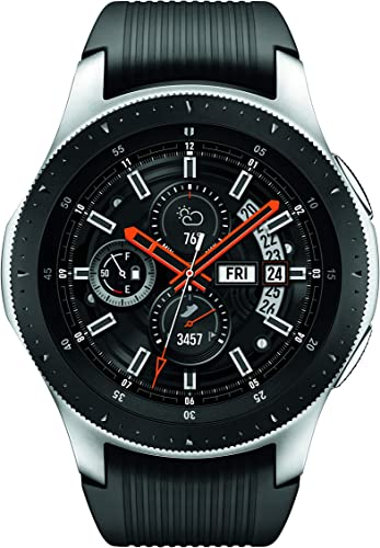 Samsung Galaxy Watch smartwatch 46mm, GPS, Bluetooth Silver Black US Version with Warranty