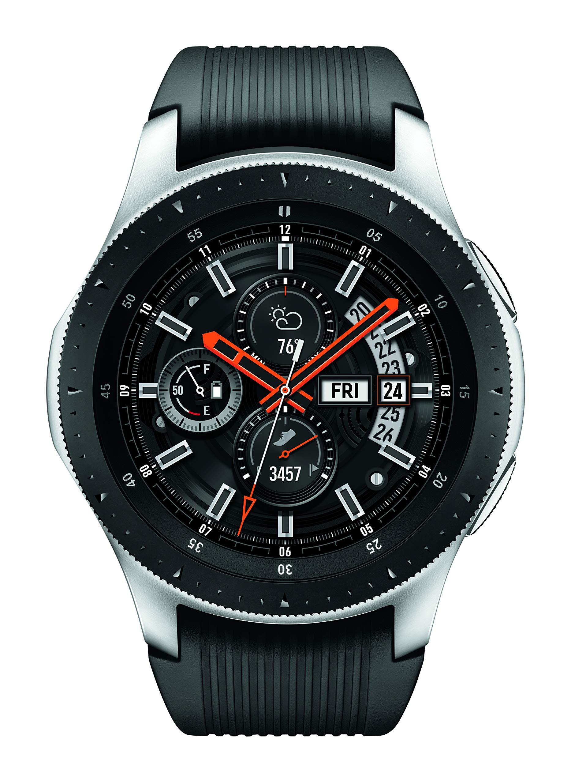 Samsung Galaxy Smartwatch (46mm) Silver (Bluetooth), SM-R800NZSAXAR - US Version with Warranty by Samsung