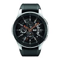 Samsung Galaxy Watch smartwatch (46mm, GPS, Bluetooth) – Silver/Black (US Version...