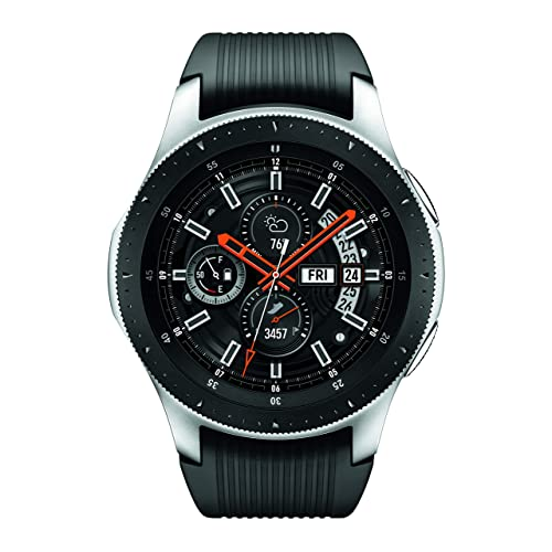 Samsung Galaxy Watch (46mm) Silver (Bluetooth), SM-R800NZSAXAR – US