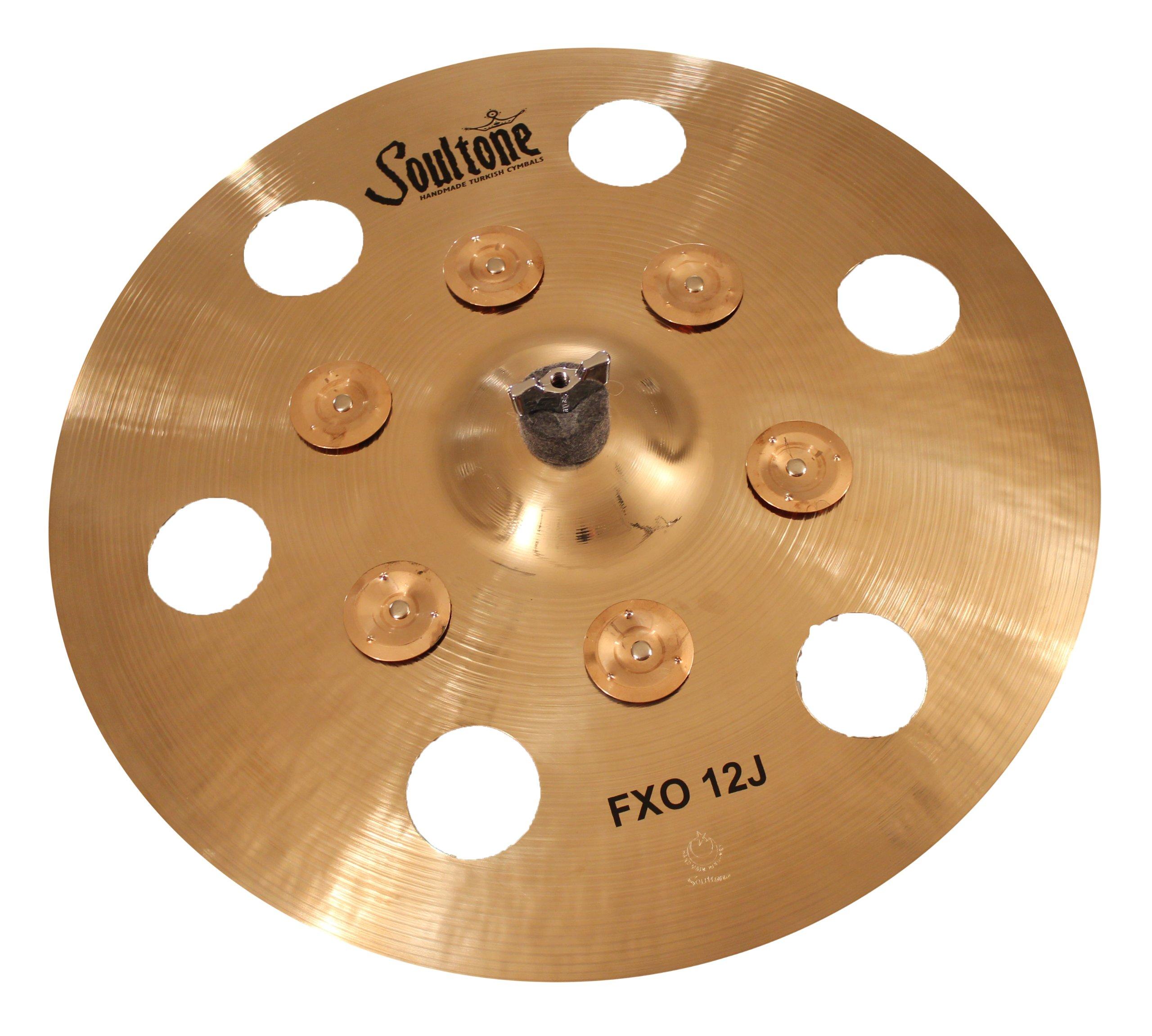 Soultone Cymbals F12J-FXO17-17'' FXO 12 J Crash by Soultone Cymbals