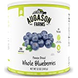 Augason Farms Freeze Dried Whole Blueberries 12 oz No. 10 Can