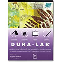 """Grafix 11 x 14"""", Pad of 25 – Ultra-Clear .005"""" Film, Acetate Alternative, Glossy Surface for Coverings, Stencils, Color…"""