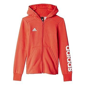 Yg Sweatshirt MädchenBp8582Rosarosbasweiß170 Für Hd Adidas Fz Linear rdxWCeBo