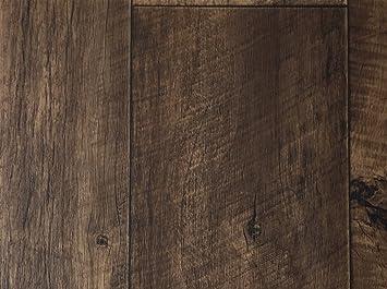 Pvc bodenbelag xl holzdielenoptik rustikal dunkelbraun vinylboden