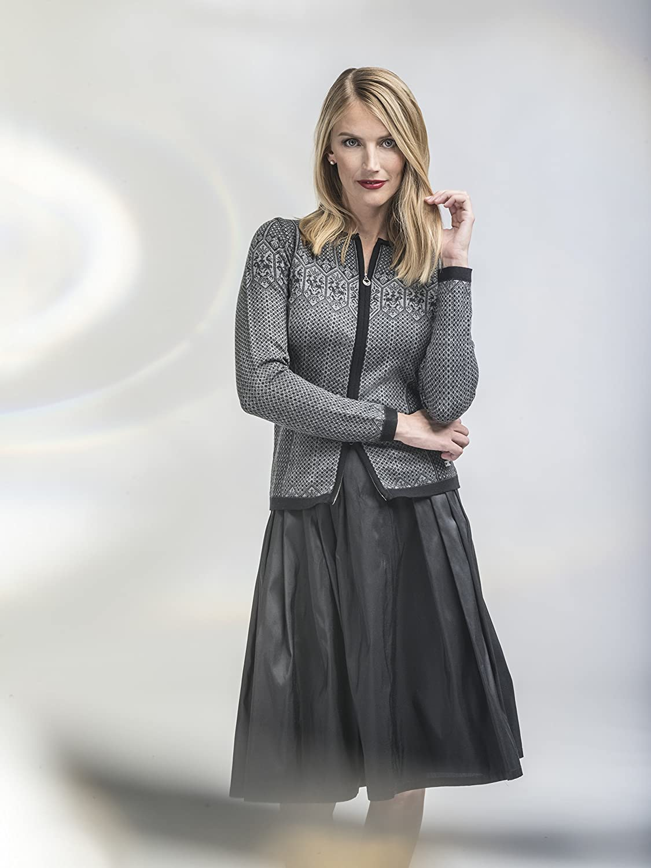 DALE OF NORWAY Womens Sigrid Feminine Cardigan