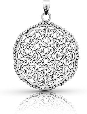 Seed of Life Mandala Necklace Energy Necklace Flower of Life Yoga Necklace Meditation Necklace Geometry Necklace Flower of Life Charm