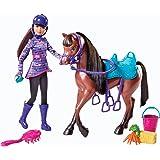 Barbie - Y7563 - Accessoire Poupée - Skipper et son Cheval