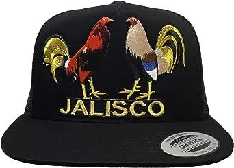 Mexico Los dos gallos de hat Black mesh