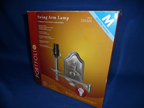 Amazon.com: Portfolio Swing Arm Lamp: Kitchen & Dining
