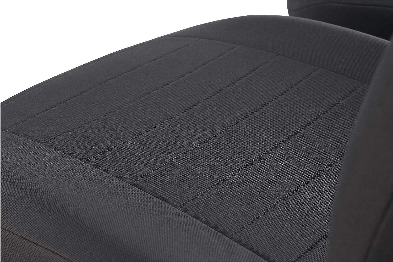 Universelle Schonbez/üge Trend Grau kompatibel mit Ford Tourneo Courier 2Stk im Set