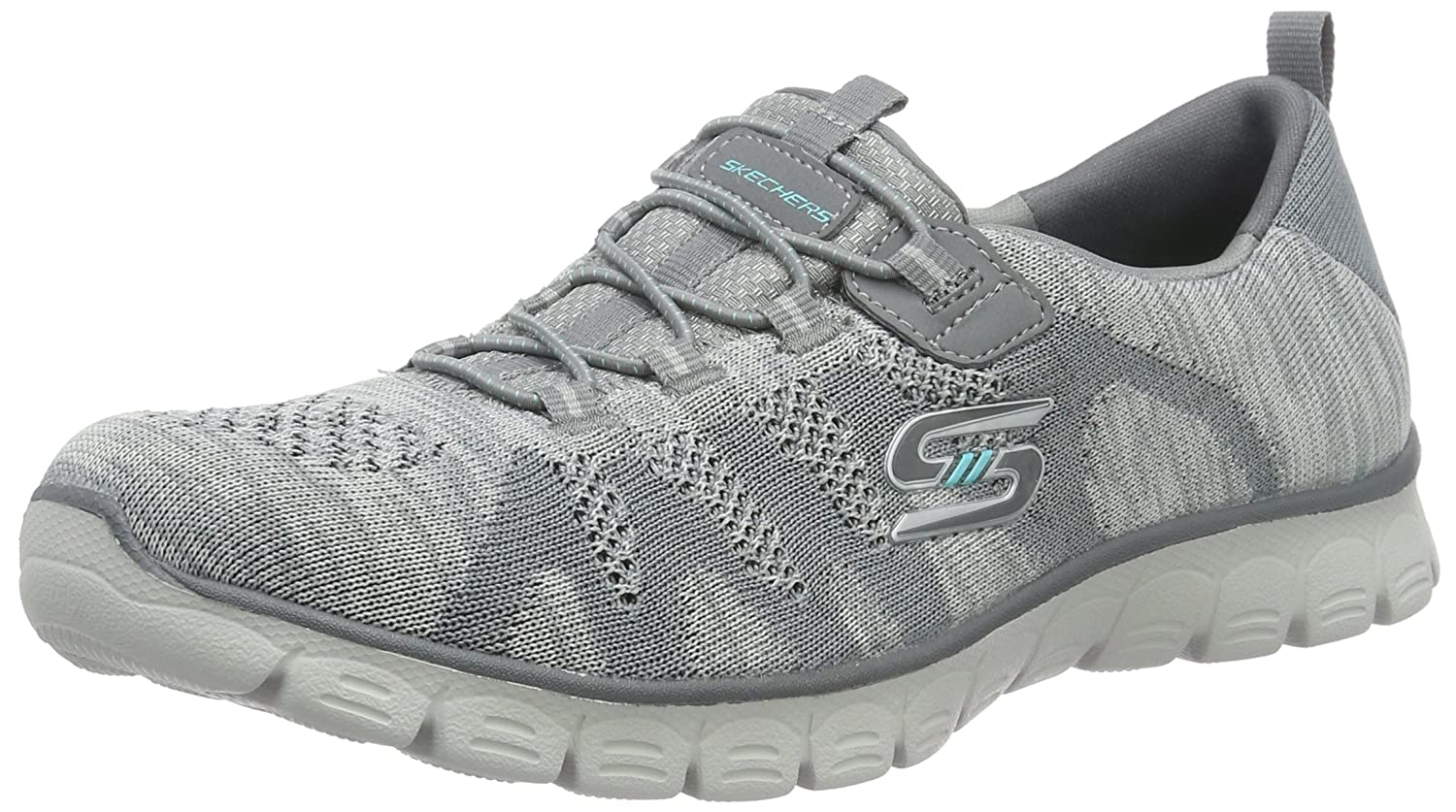 Skechers Women's Sport-Active Ez Flex 3.0 Take-The-Lead Sneaker B01BHRTNVQ 7 B(M) US|Gray