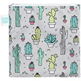 Bumkins Reusable Snack Bag Large, Cacti