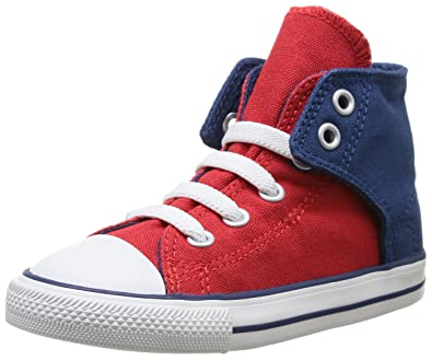 converse easy slip. converse chuck taylor easy slip hi, unisex children\u0027s trainers, red (rouge/marine