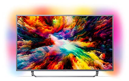 2dc27aafdcf7e Philips 65PUS7303 12 164 cm (65 Zoll) LED-Fernseher (Ambilight