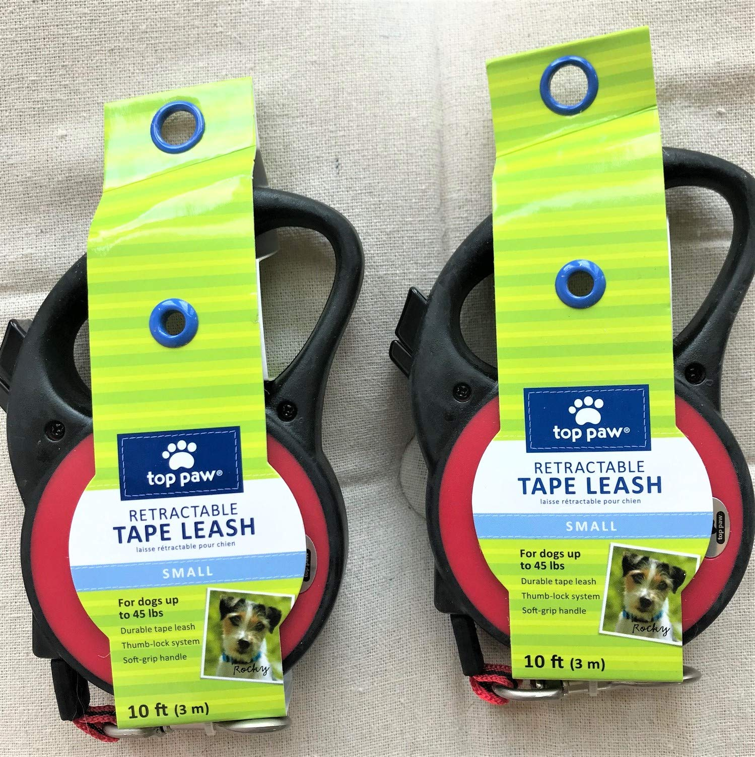 TOP PAW Retractable Tape Leash Small