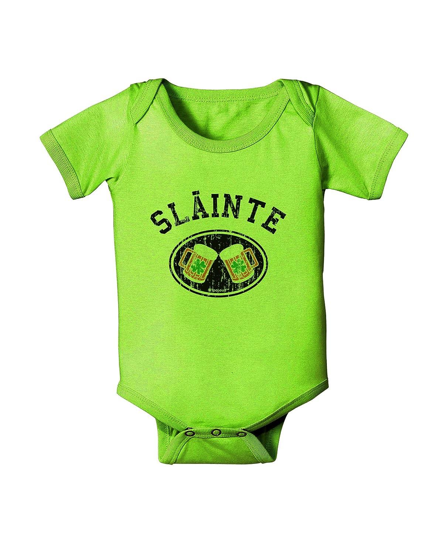 St TooLoud Slainte Patricks Day Irish Cheers Baby Romper Bodysuit