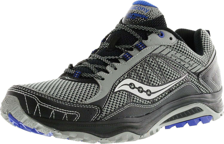 Saucony Grid Excursion Tr9 Running Men's Shoes B00Z749D1Q 11.5 D(M) US Grey/Black