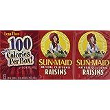 Sun Maid California Raisins 6 Pack (7/8 Oz Boxes)