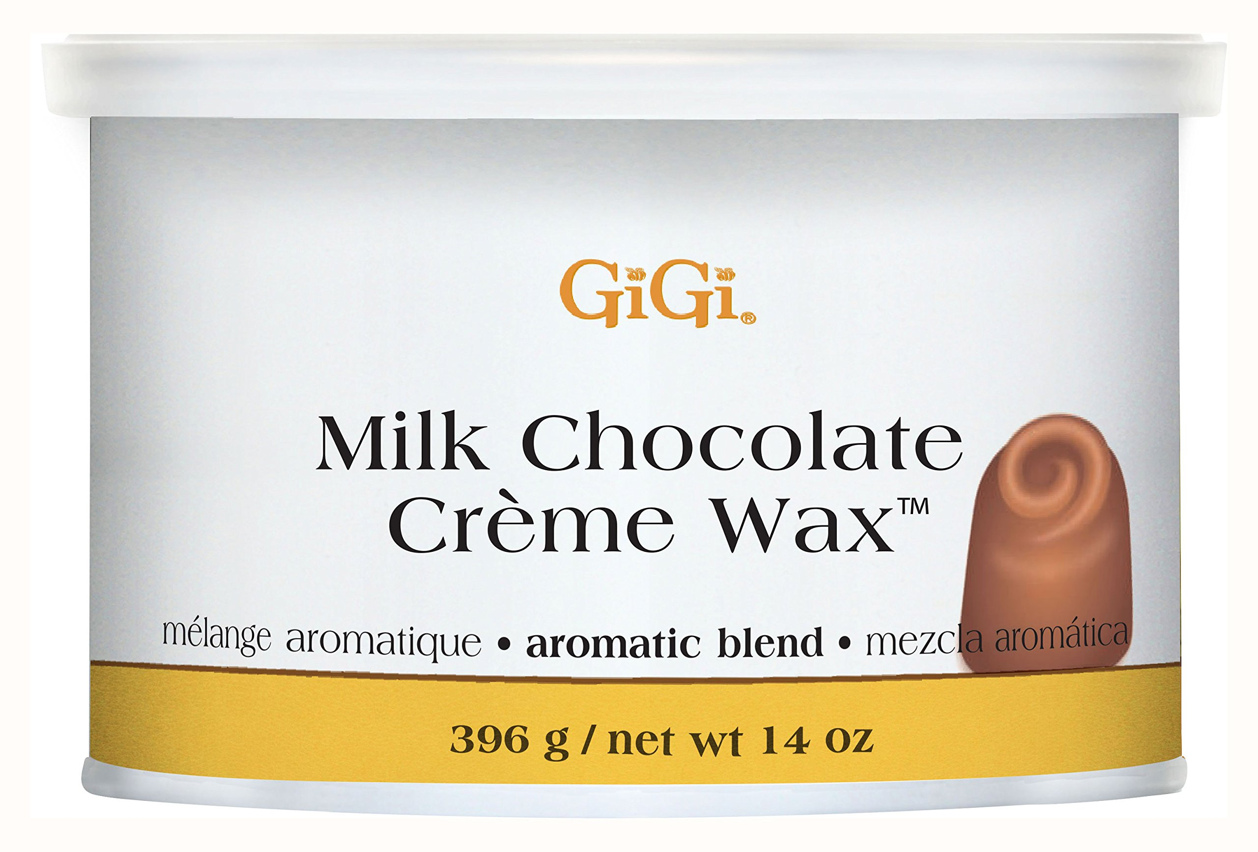 Gigi Milk Chocolate Creme Wax, Milk Chocolate, 14 Ounce