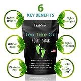 Tea Tree Oil Foot Soak with Epsom Salt - Made in