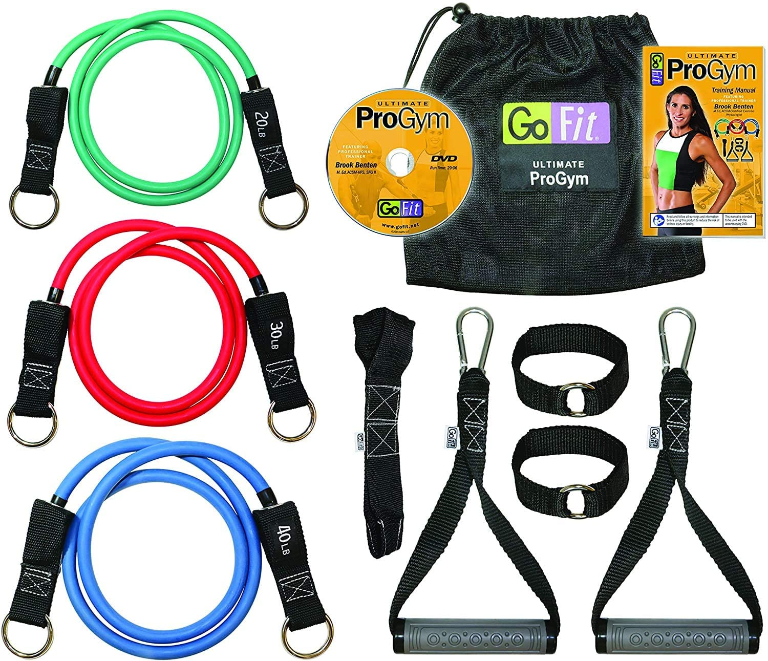 GoFit Pro Gym Set- Portable Gym and Fitness Equipment