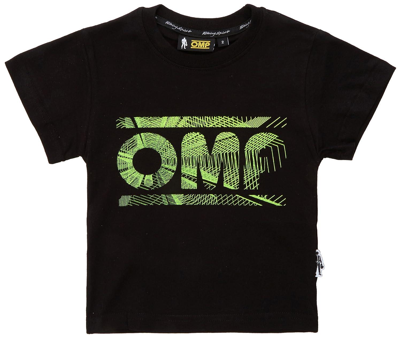 OMP OMPOR59070714Y Camiseta L Negro