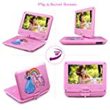 UEME Portable DVD Player with 9 inches Swivel