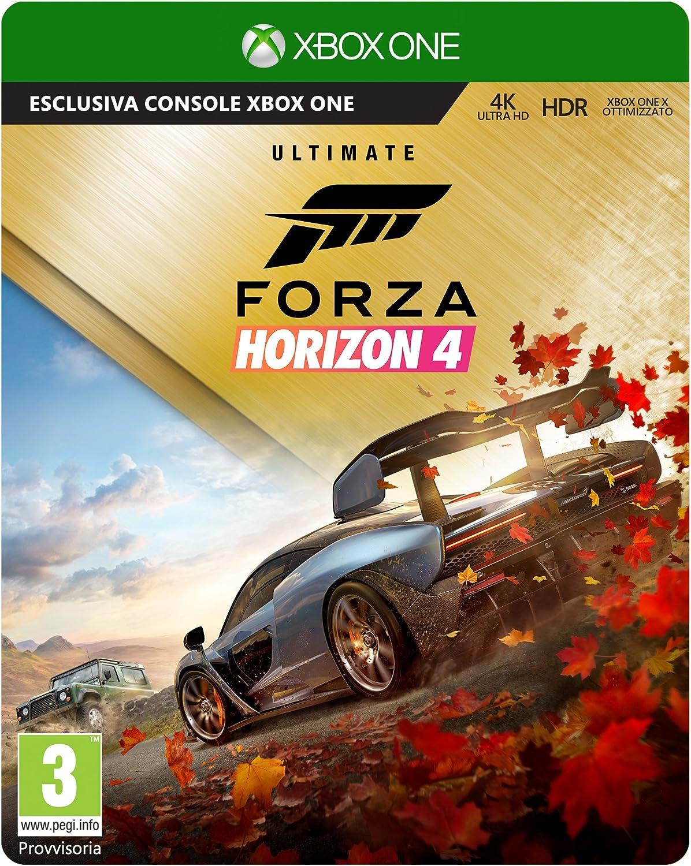 Forza Horizon 4 Ultimate Edition - Limited - Xbox One [Importación italiana]: Amazon.es: Videojuegos