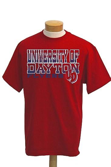 359fe8a748f Amazon.com   NCAA Dayton Flyers Acho Short Sleeve T-Shirt   Sports ...