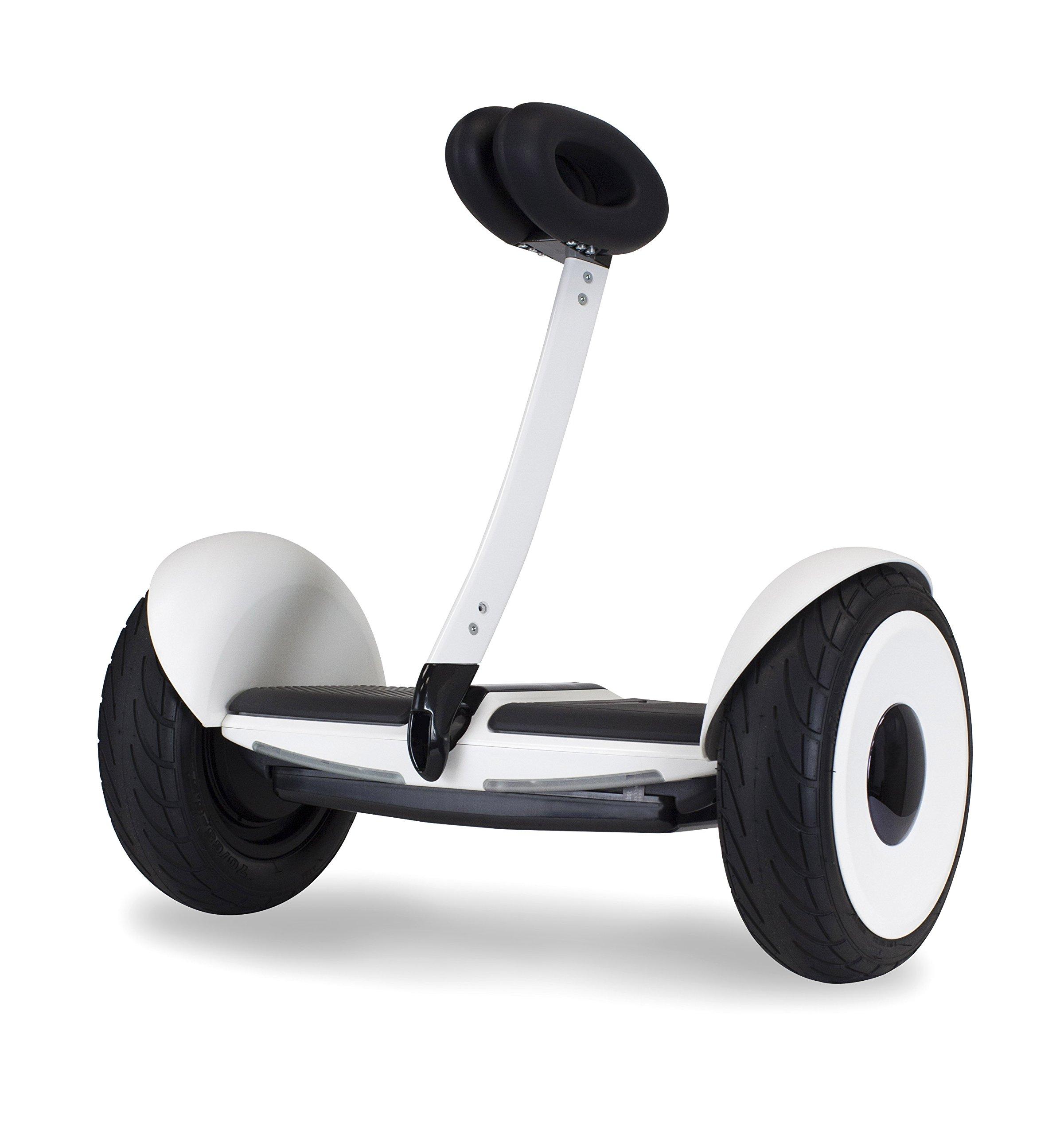 Segway miniLITE Smart Self-Balancing Electric Transporter, White by SEGWAY
