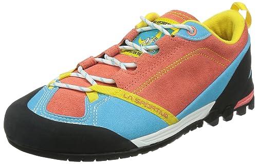 La Sportiva Zapatillas Deportivas Mix Woman Coral/Turquesa EU 42.5: Amazon.es: Zapatos y complementos