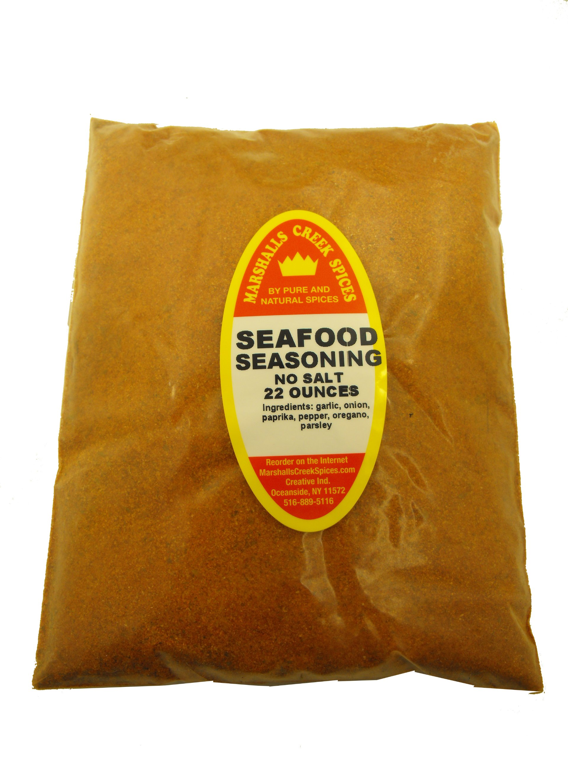XL REFILL Marshalls Creek Spices Seafood No Salt Seasoning, 22 Ounce