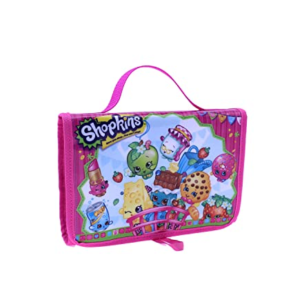 Spiele 6 Internal Storage Compa... Shopkins Toy Carry Case Tri-Fold Storage Organizer