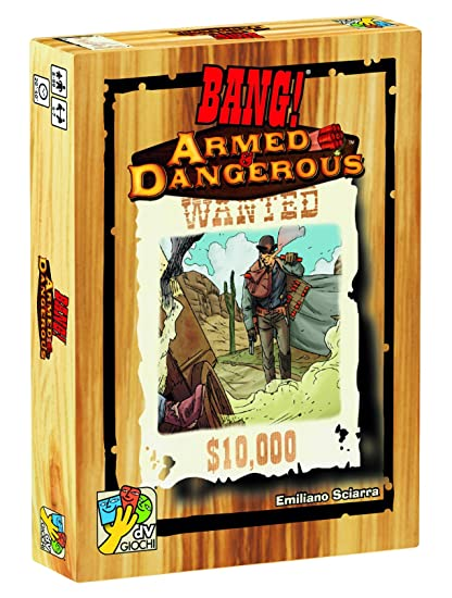 DA VINCI Bang! Armed & Dangerous Board Games