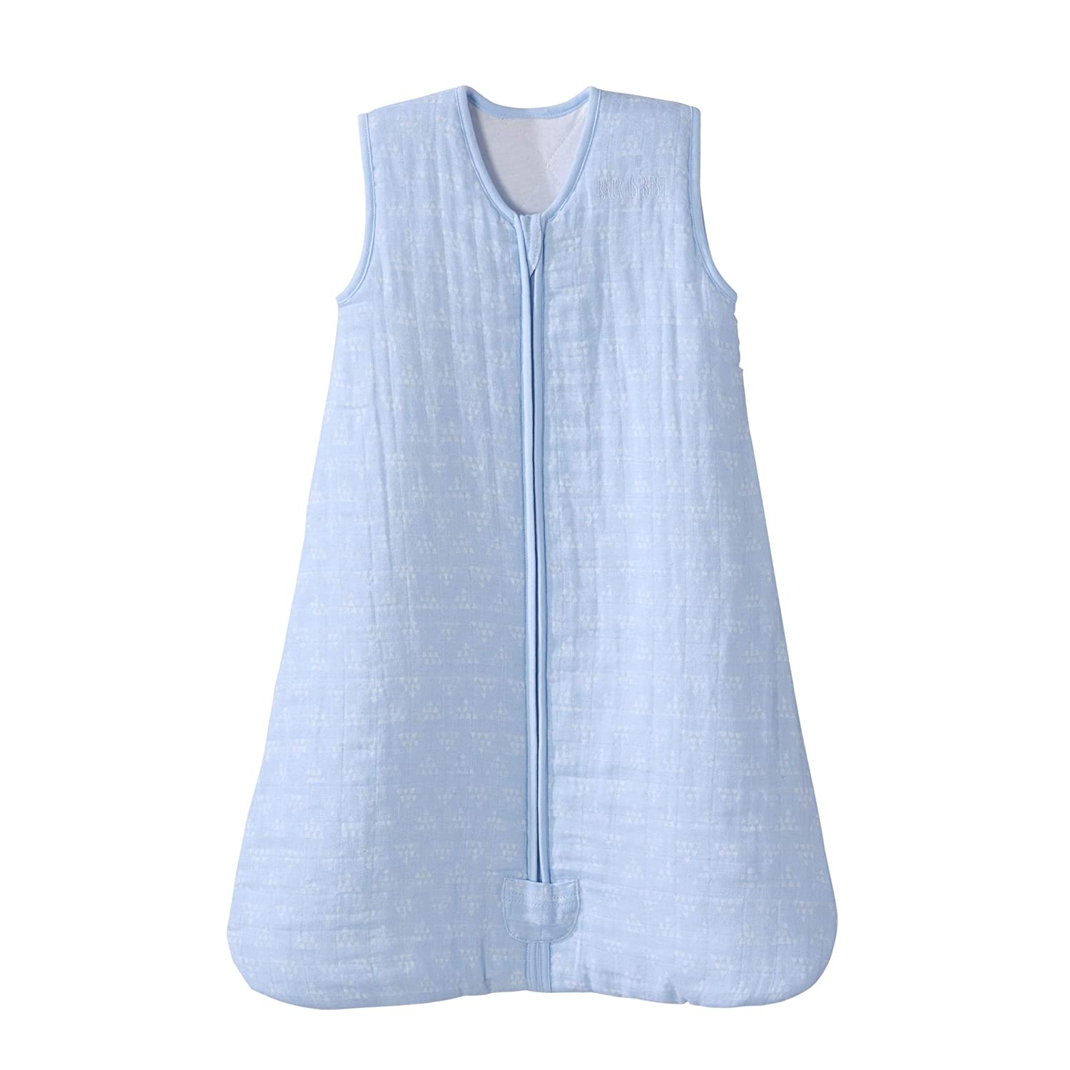 Halo SLEEPWEAR ユニセックスベビー Small Pyramid Blue B07K41FJQR