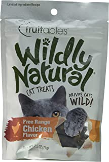 product image for Fruitables Wildly Natural Cat Treats, Chicken, 2.5 Ounce Bag