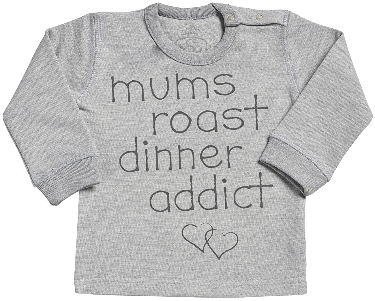 Baby ClothingPersonalised Custo m Roast Dinner Addict Text Long Sleave Baby Sweater SR Baby Sweater Gift Baby Sweatshirt