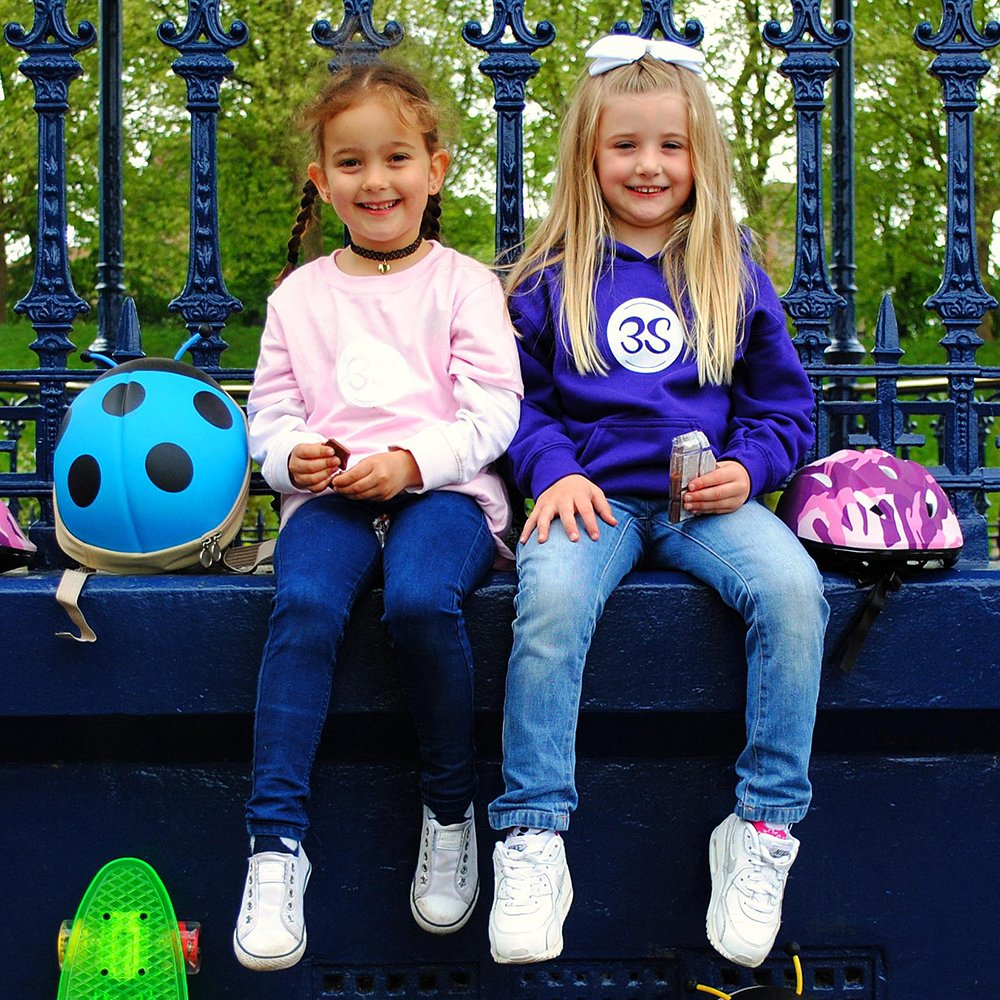 3Style/® Childrens Cute Blue Ladybird Backpack Play and More Perfect for School Runs Adventures Blue