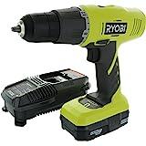 Ryobi P1810 18-Volt ONE+ Lithium-Ion Cordless Drill Driver Kit